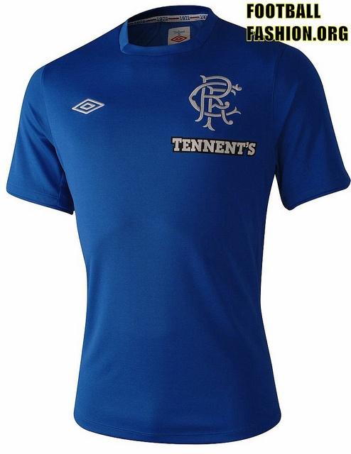 Rangers FC Umbro 2012/13 Home Kit
