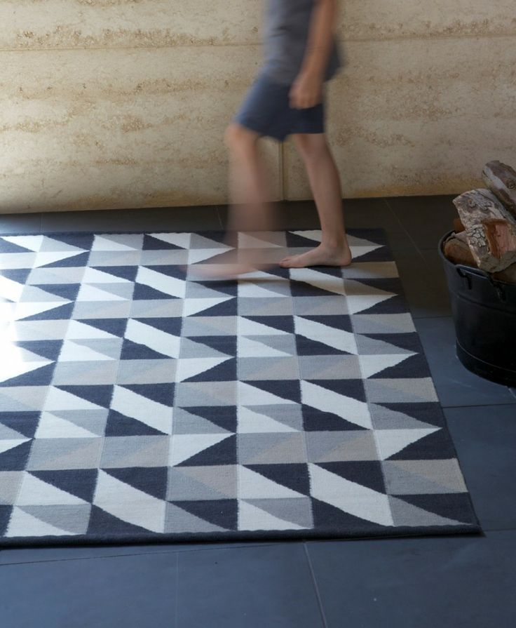 Find This Pin And More On Au0026B RUGS. Triangle ...