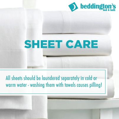 Sheet care #DIY #Bedrooms #Cleaning #Home http://www.beddingtons.com