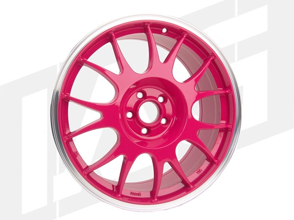 ROTA FORMULA 18X8 / 48 OFFSET / 5X100 / 56.1 HB PINK WHEEL SET (4)