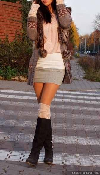 Omg adorbes, probably would add some tights to feel little more covered up
