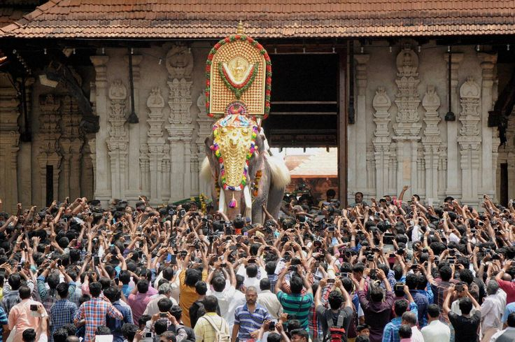 Mobile penetration in India - any doubts?   Photo: Pooram festival in Kerala (via @oneindia @malayalam1india @nativeplanet )