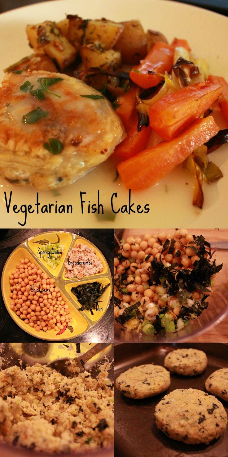 """Veggie """"fish"""" cakes"""