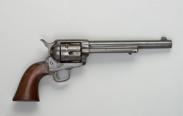 Doc Holliday's Colt Cavalry Model Single Action Army Revolver