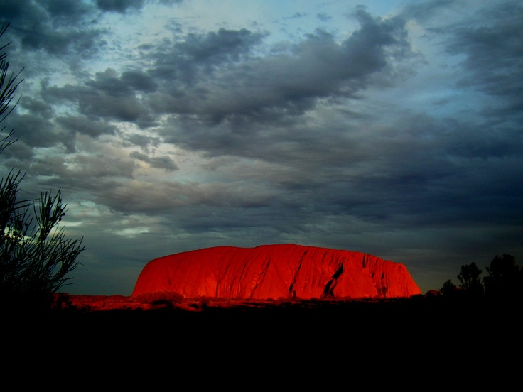 Uluru/Ayres Rock, Australia  A must see at sunset when it can  appear to glow  #uluru #ayres #rock