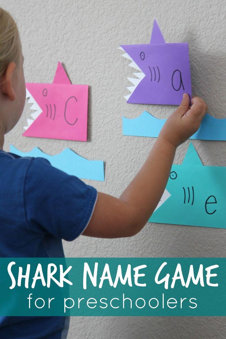Toddler Approved!: Shark Name Game for Preschoolers