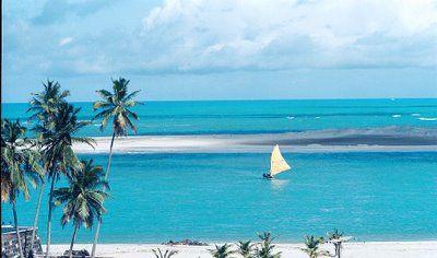 Isso sim é o paraíso!!!  Praia de Barra de Cunhaú, Natal RN