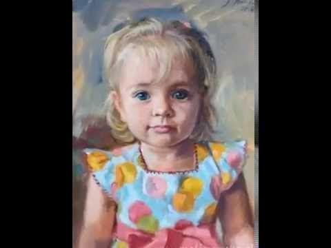 Custom oil portraits by Monika Malinowska