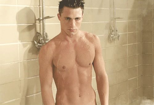 Colton Haynes. New discovery.... and God can he sing!