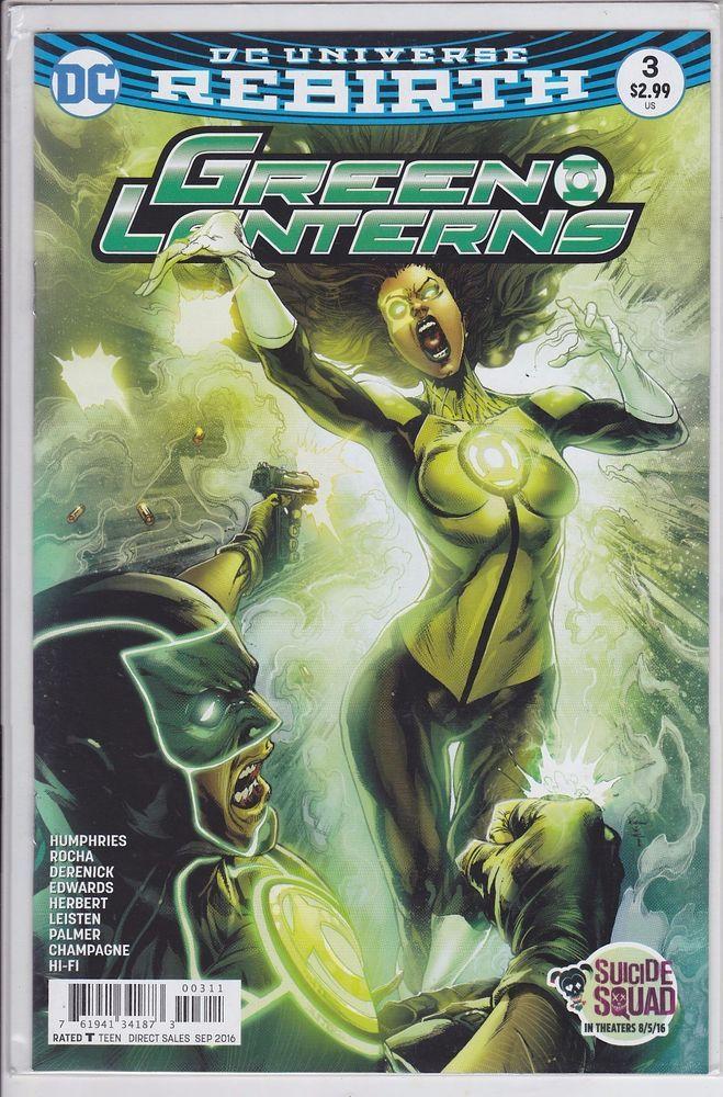 Green Lanterns #3 DC Comics 2016 Rebirth Corp | Collectibles, Comics, Modern Age (1992-Now) | eBay!