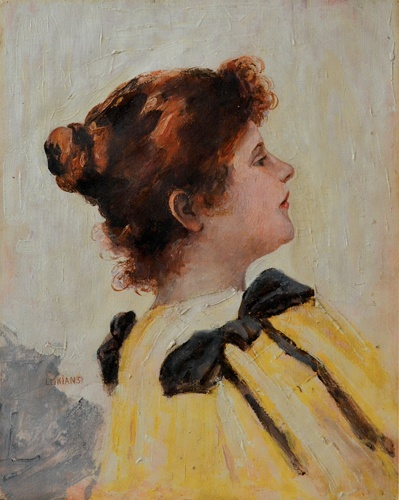 Ștefan Luchian - Portretul unei femei