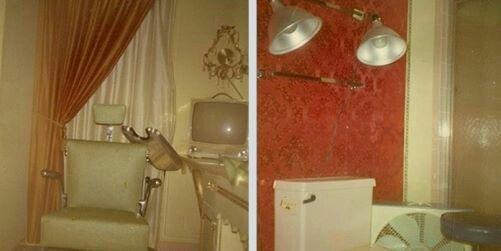 Graceland Upstairs Bathroom With Images Elvis Presley