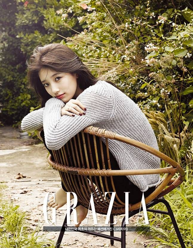 Suzy lures you in with her captivating gaze in additional cuts and BTS video from her 'Grazia' pictorial | http://www.allkpop.com/article/2014/09/suzy-lures-you-in-with-her-captivating-gaze-in-additional-cuts-and-bts-video-from-her-grazia-pictorial