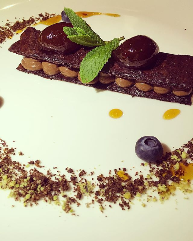 You say yes to our amazing Millefeuille with chocolate tainori...  #AthensWas #Athens #Acropolis #designhotels #dessertathens #athensrestaurant