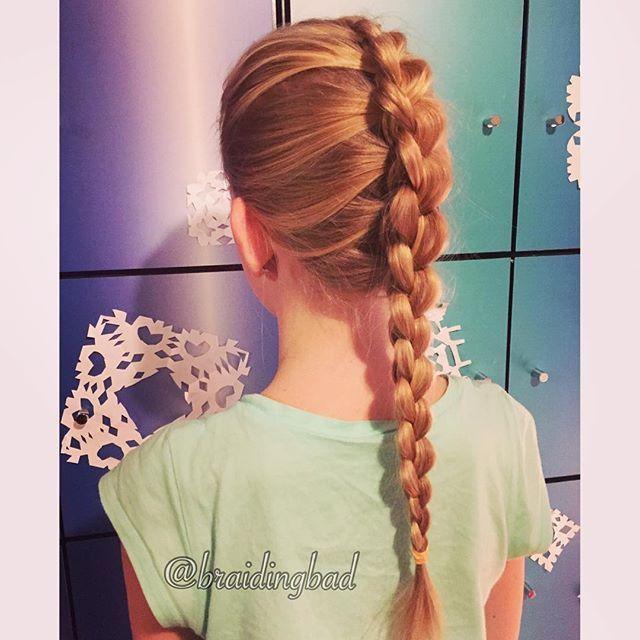 #dragonbraid or #3droundbraid  I just love @ester.iina 's natural highlights  . #braid #braiding #braidinghair #braidideas #instabraids #letti #letit #lettikampaus #letitys #hairdo #hairdos #hairstyles #flette #plaitedhair #suomiletit #braidsforgirls #featuremeisijatytot #featuremejehat #hotbraidsmara #braidsforlittlegirls #braidingchallenge #featureaccount_ #braidinginspiration #perfecthairpics #inspirationalbraids #cghphotofeature