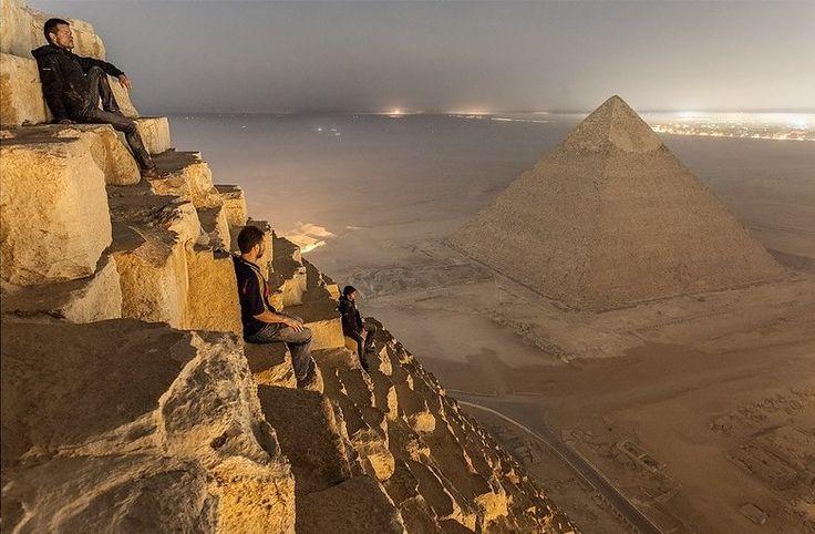 Niesamowite fotki z Piramidy Cheopsa - GeekWeek.pl - gadżety, nowinki techniczne, nauka