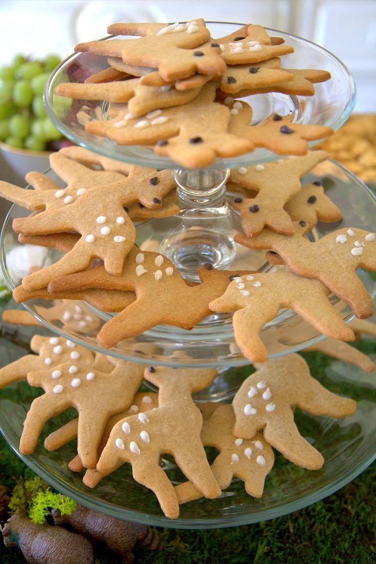Woodland Party; Deer cookies; dessert, party food:…