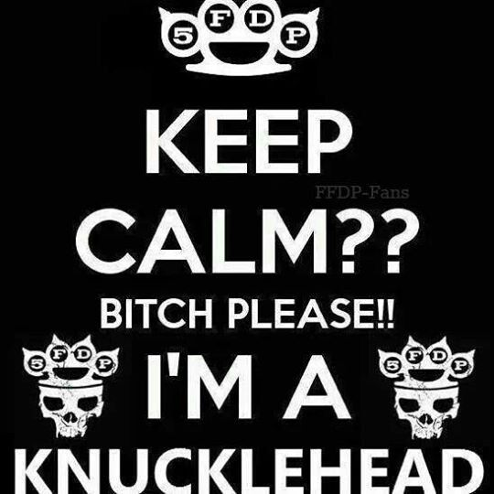 I'm a Knucklehead