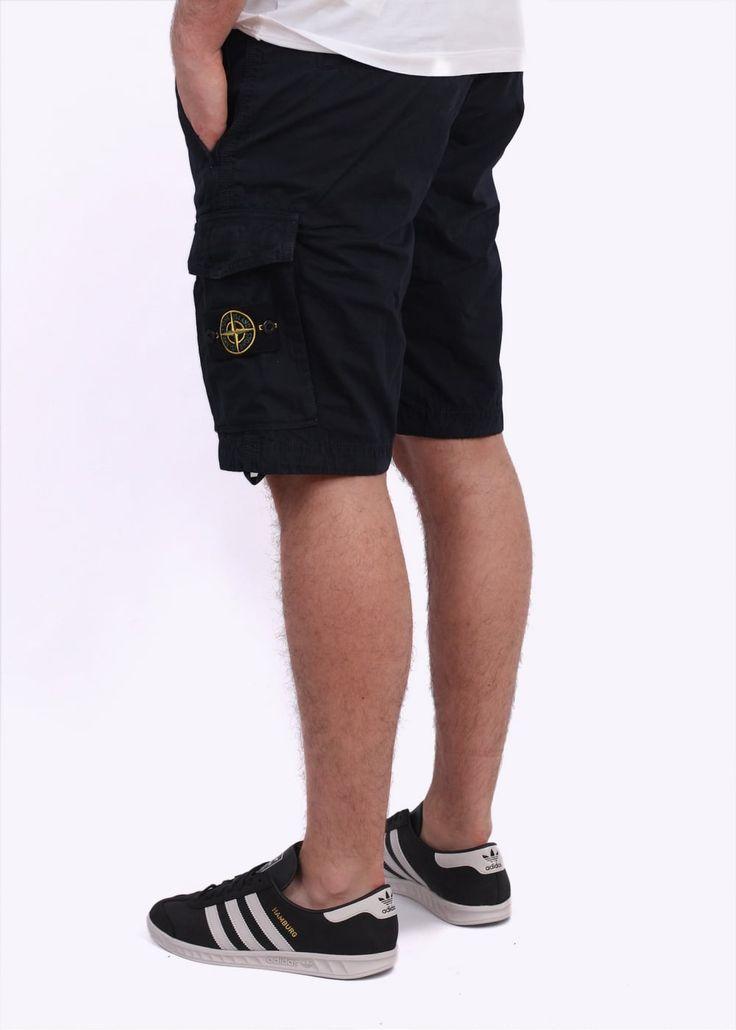 Stone Island Bermuda Shorts - Navy