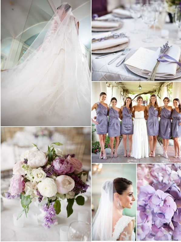 lavender & purple wedding | You and Me, Always