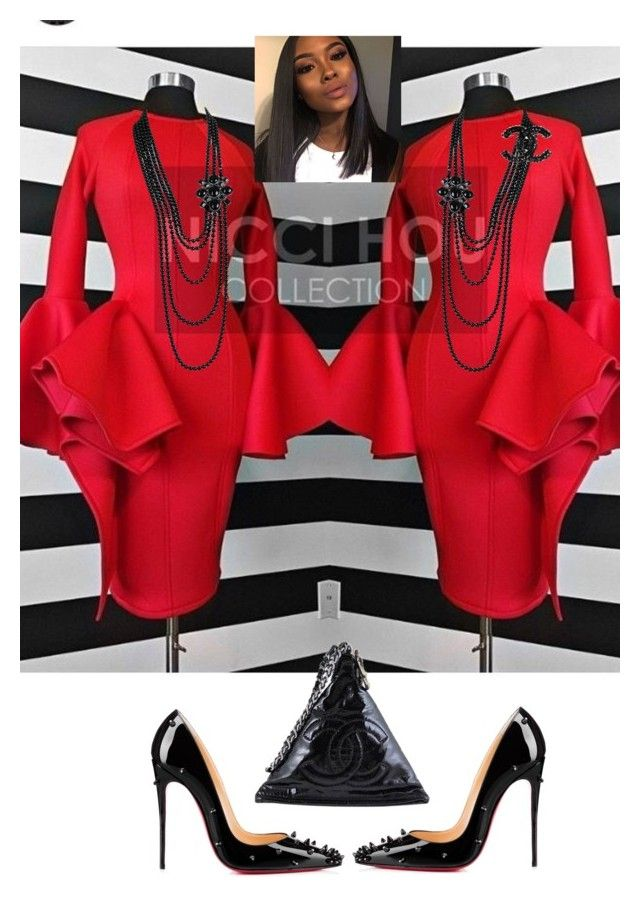 """""""Pentecost Sunday"""" by cogic-fashion on Polyvore featuring Christian Louboutin and Chanel"""