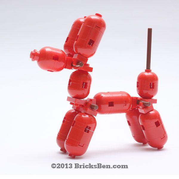BricksBen - LEGO Balloon Dog