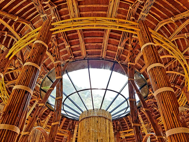 Bamboo Architecture Buildings And Structures 258 best bamboo architecture images on pinterest | bamboo