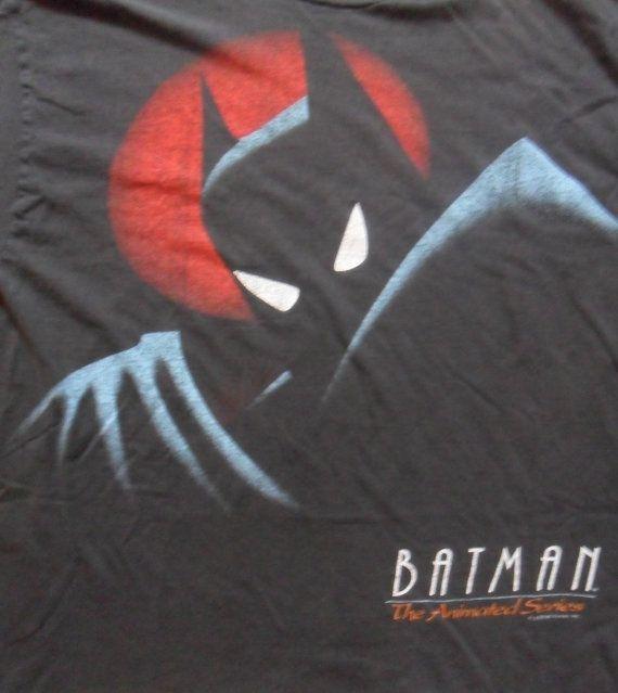 Batman DC Comics WB 1992 Vintage TShirt Men's by RetroFreshTees, $26.00