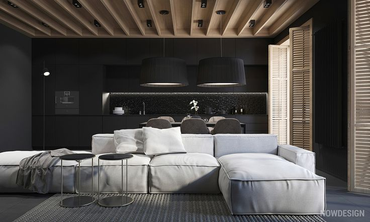 How do you feel about black walls in the home? It may seem like an unusual choice in an era where bright white and subtle pastels dominate the top design trends