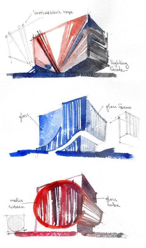 скетчи архитектура - Поиск в Google