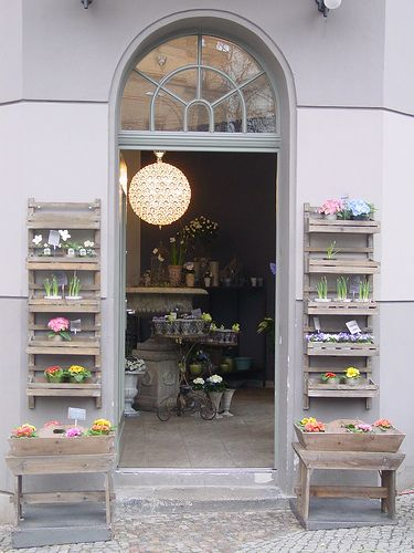 Flower shop by piccolasamurai, via Flickr