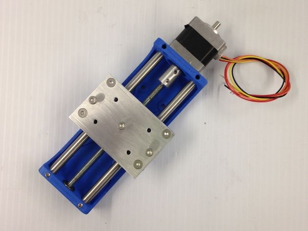 CNC Z axis for ARDUINO projects , PCB drill , micro router ...Nema 14 motor by Jbcrd - Thingiverse