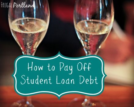 how to pay off college loans quicker