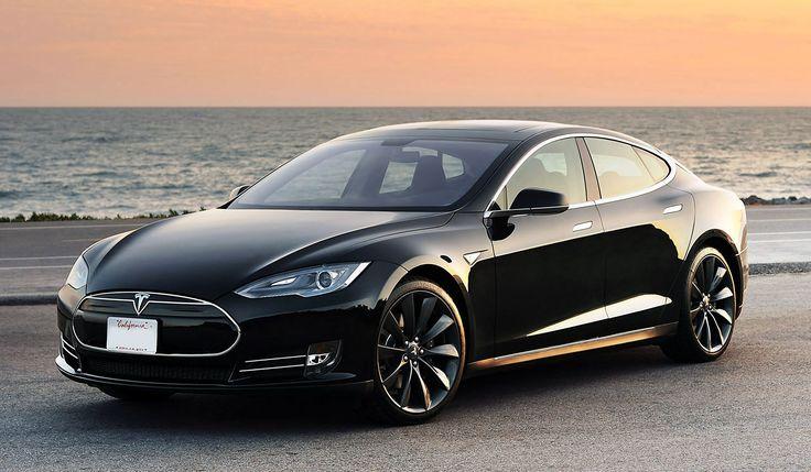 Электромобиль Tesla (Тесла) за Лямов