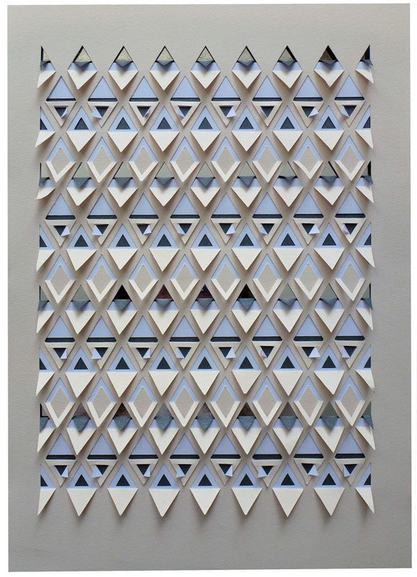 Handcut paper by Sarah Louise Matthews from www.anthologymag.com