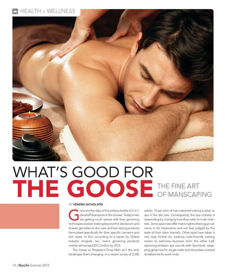 Exploring Manscaping in the Summer 2013 issue of Skylife Magazine.