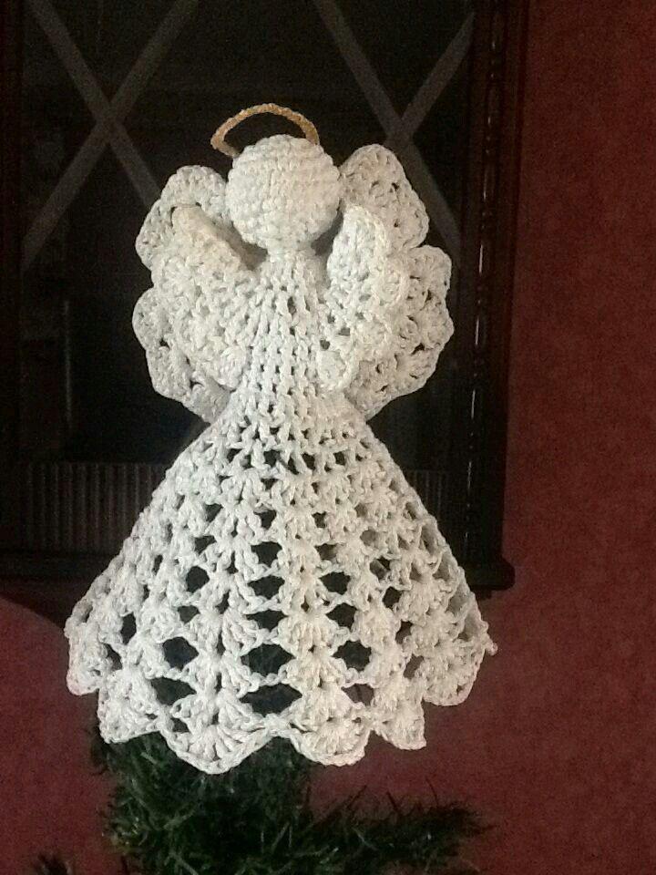 Angelito de crochet