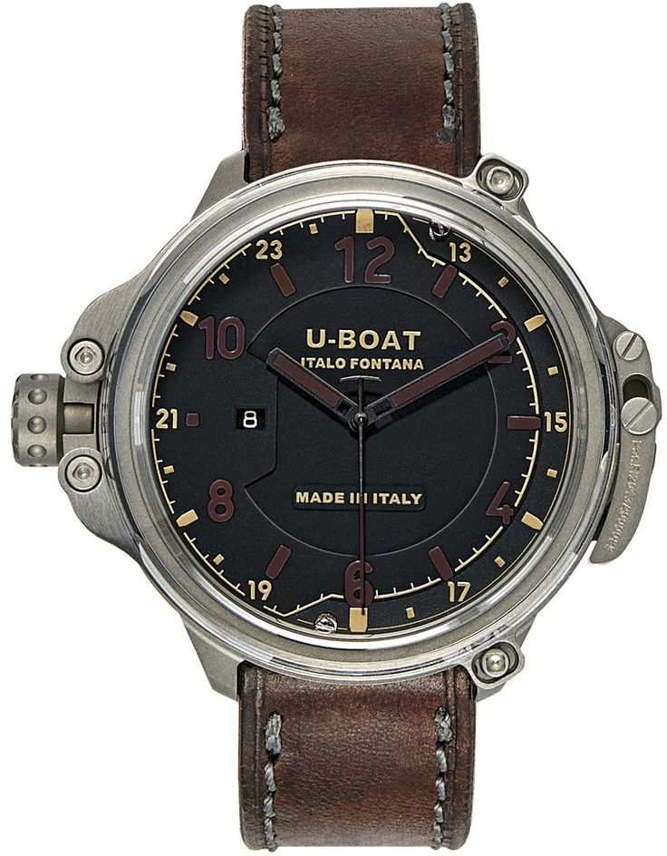 U-Boat Watch Capsule 50 Black Limited Edition #basel-15 #bezel-fixed #bracelet-strap-leather #brand-u-boat #case-depth-23-5mm #case-material-titanium #case-width-50mm #date-yes #delivery-timescale-call-us #dial-colour-black #gender-mens #limited-edition-yes #luxury #movement-automatic #new-product-yes #official-stockist-for-u-boat-watches #packaging-u-boat-watch-packaging #style-dress #subcat-capsule #supplier-model-no-7469 #supplier-model-no-capsule-black…