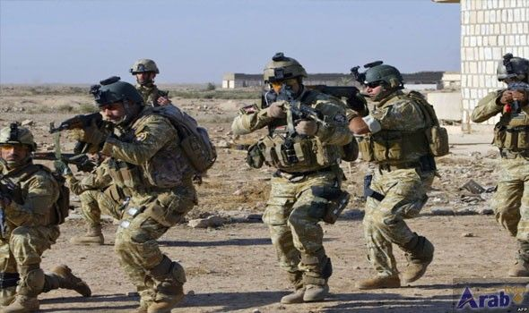 Iraqi military forces managed to prevent a suicide attack
