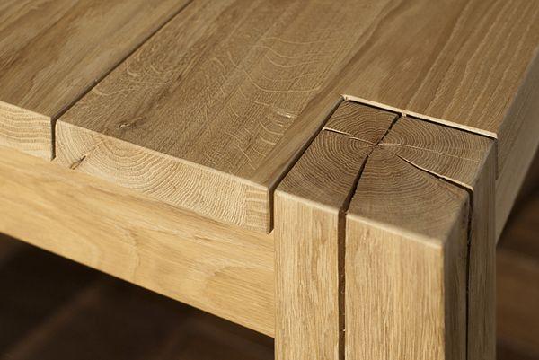 Oak table on Behance