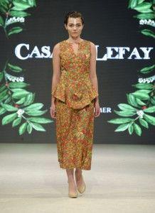 boho chic maxi dress for summer nights vancouver fashion week ss17 organic cotton. Sustainable eco fashion fair trade slow fashion