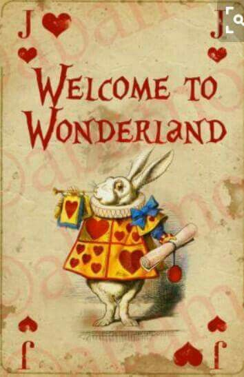 *WHITE RABBIT ~ Alice in Wonderland, 1951