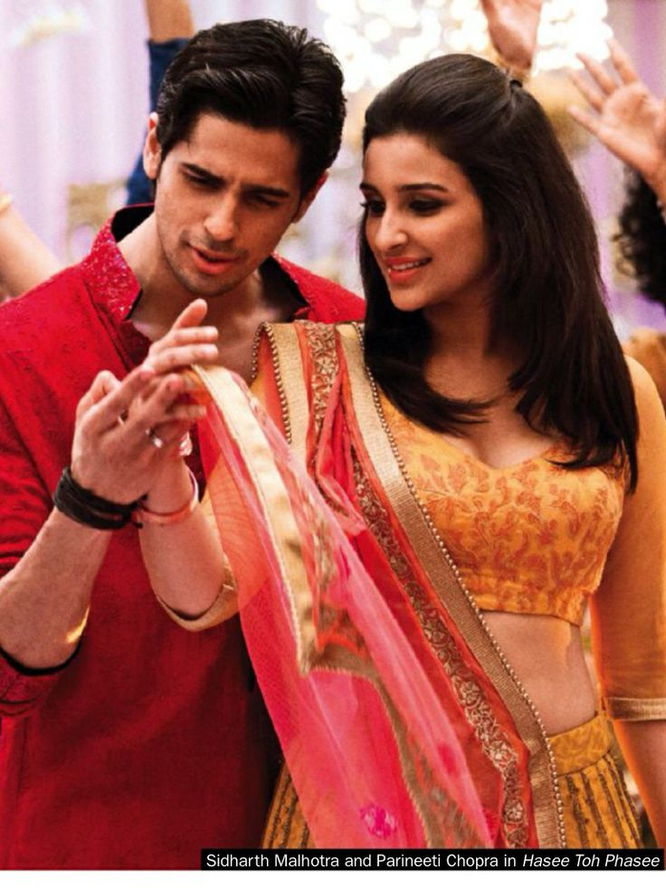 Siddharth  Malhotra with Parineeti Chopra in Hasee  Toh Phasee.