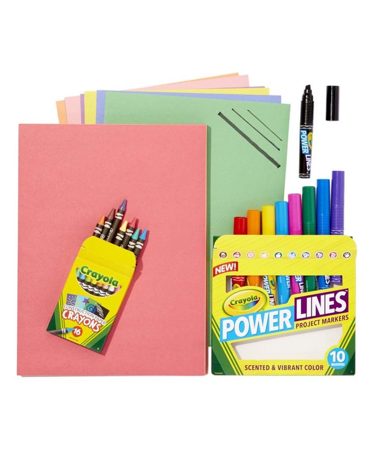 Take a look at this Crayola Construction Paper Art Set today!