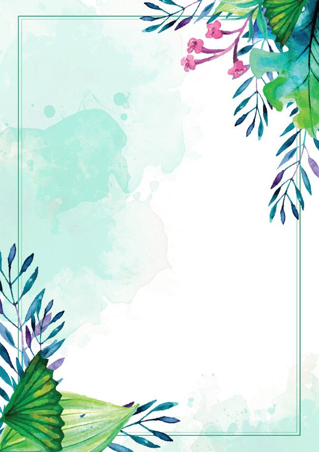 Small Clear Watercolor Background Psd Layered Advertising
