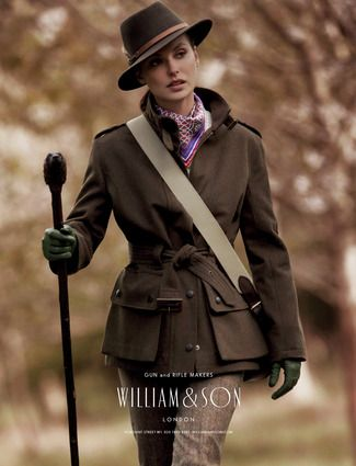 Ladies bamburgh wool jacket w logo. William and Sons of England