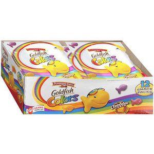 Pepperidge Farm: Goldfish Colors Baked Snack Pack Crackers, 10.8 Oz