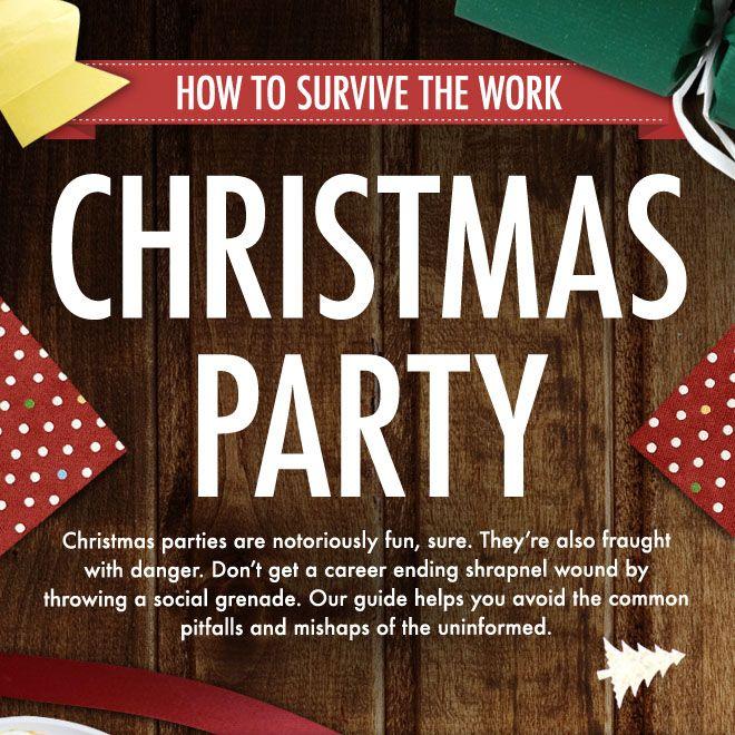 Firmen-Weihnachtsfeier. Ihr wisst Bescheid. 11 hilfreiche Tipps zum Durchhalten.