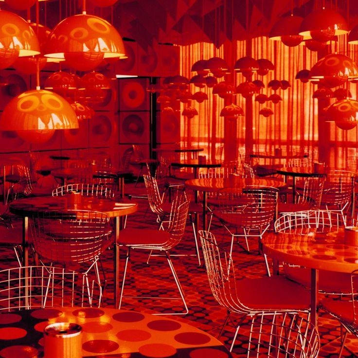 16 best Panton images on Pinterest Design interiors, Futuristic - designer kantine spiegel magazin