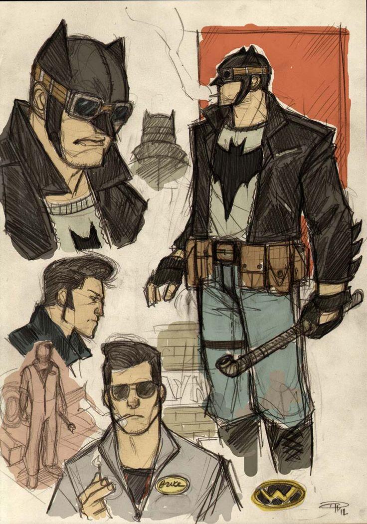 1950s Greaser Batman